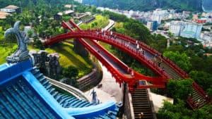 Play till you drop in the largest theme park of Southeast Asia Dragon Park
