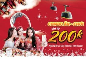NEW YEAR EVE COMBO AT THE SUN WORLD HALONG COMPLEX AT ONLY FROM 200,000 VND