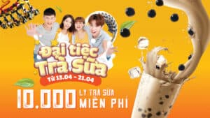 BUBBLE TEA FEAST – 10,000 CUPS FOR FREE