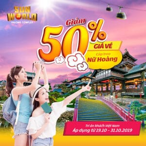 50% DISCOUNT FOR CABLE CAR PRICE CELEBRATING VIETNAMESE WOMEN'S DAY 20-10!!!!